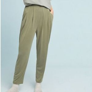 Anthropologie Saturday Sunday  Abroad Cupro Pants